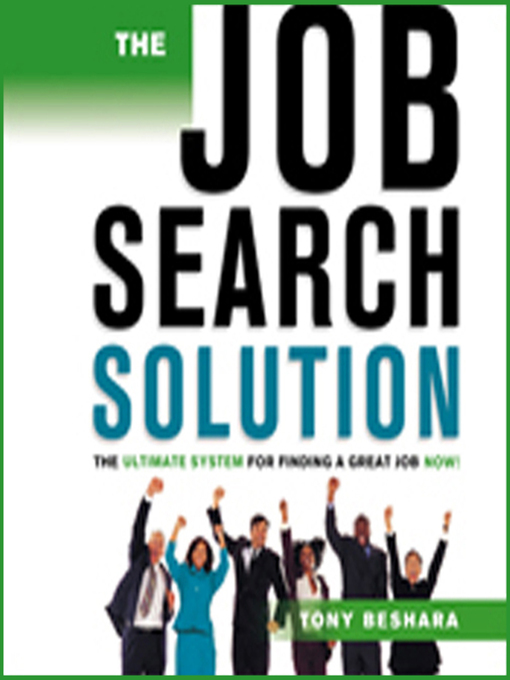 Title details for The Job Search Solution by Tony Beshara - Available