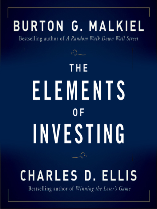 Cover of The Elements of Investing