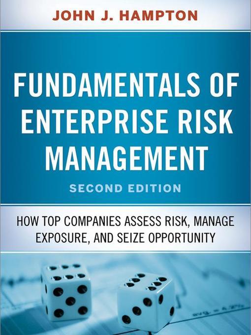 Title details for Fudamentals of Enterprise Risk Management by John Hampton - Wait list
