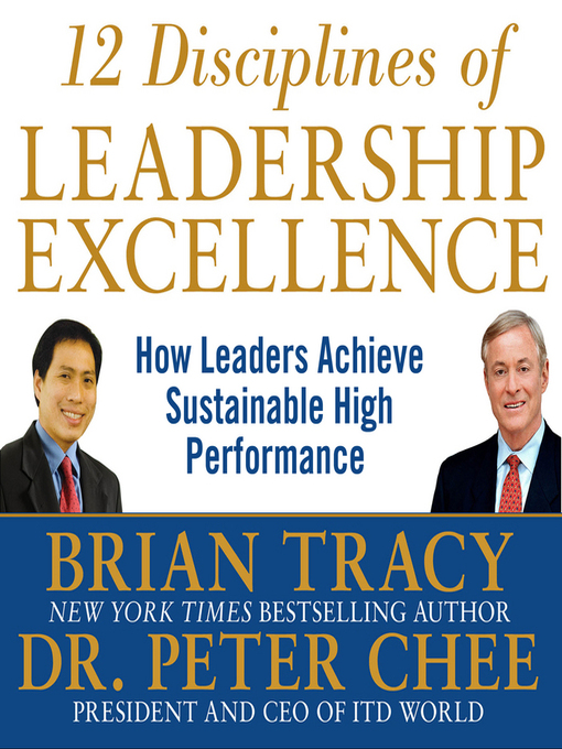 Title details for 12 Disciplines of Leadership Excellence by Brian Tracy - Available