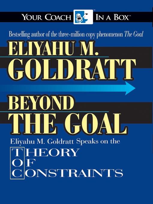 audiobook the goal eliyahu goldratt