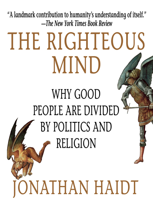 Title details for The Righteous Mind by Jonathan Haidt - Available