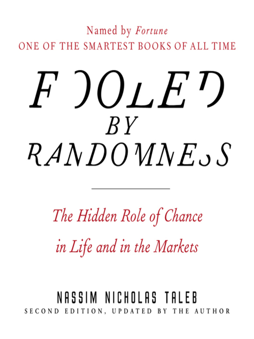 Title details for Fooled by Randomness by Nassim Nicholas Taleb - Wait list