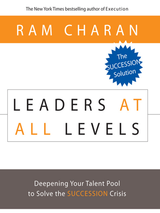 Title details for Leaders at All Levels by Ram Charan - Available