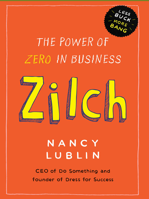 Cover of Zilch