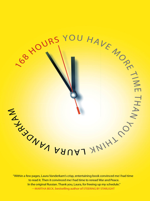 Title details for 168 Hours by Laura Vanderkam - Wait list
