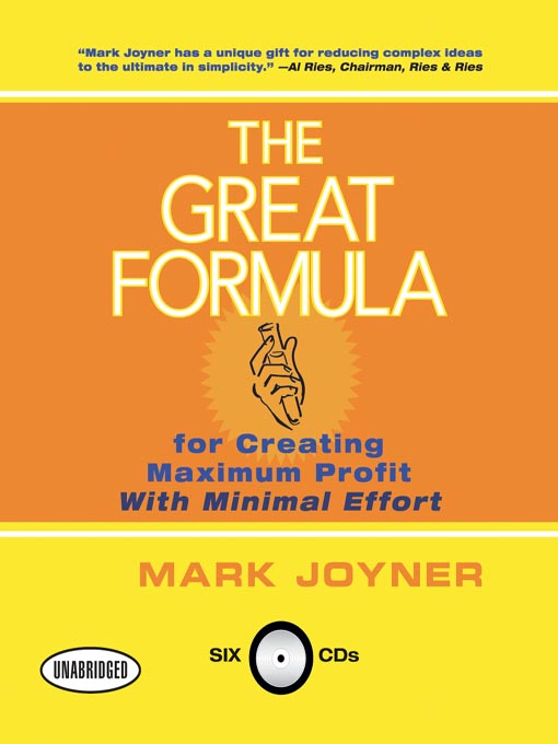 Cover of The Great Formula