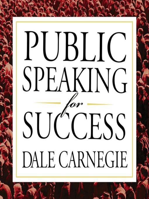 Title details for Public Speaking for Success by Dale Carnegie & Associates - Wait list