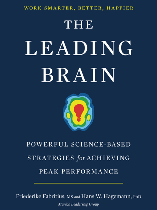 Title details for The Leading Brain by Friederike Fabritius - Wait list