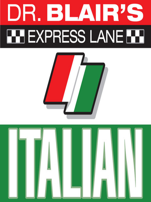 Cover of Dr. Blair's Express Lane: Italian