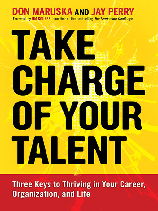 Title details for Take Charge of Your Talent by Don Maruska - Available