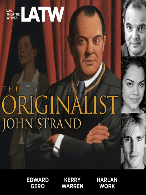 Title details for The Originalist by John Strand - Available