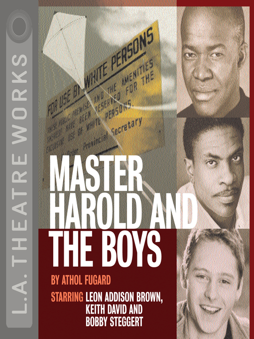 boy essay harold master Master harold and the boys essay - top-ranked and cheap report to ease your education put aside your concerns, place your order here and receive your top-notch paper.