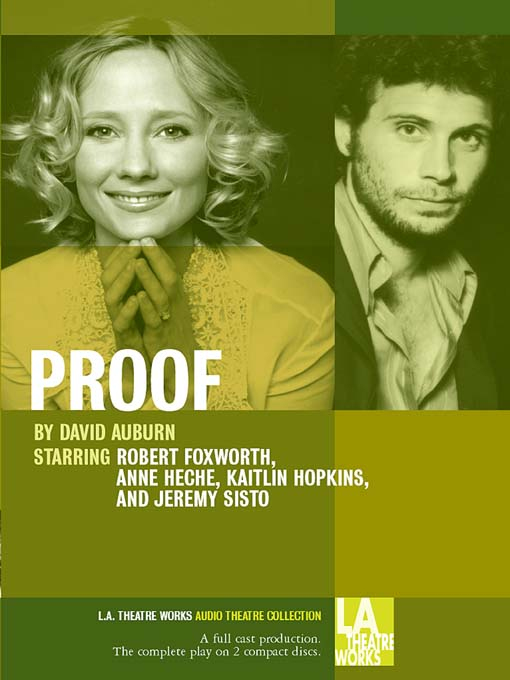 Title details for Proof by David Auburn - Available