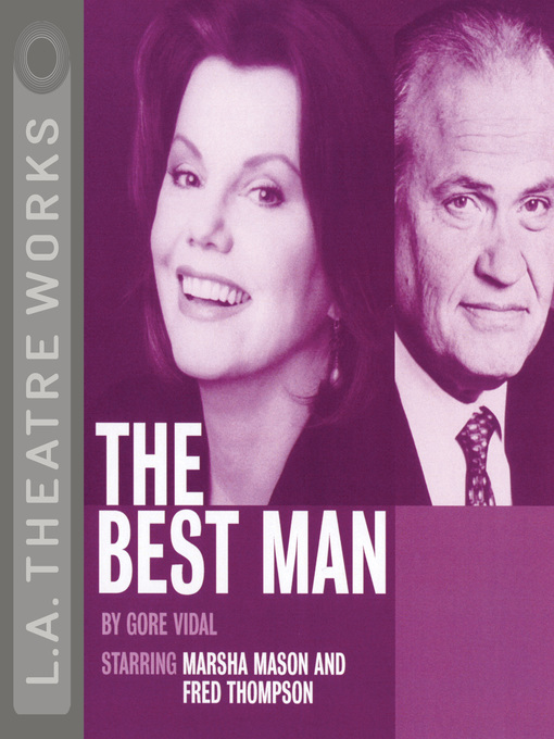 Title details for The Best Man by Gore Vidal - Available