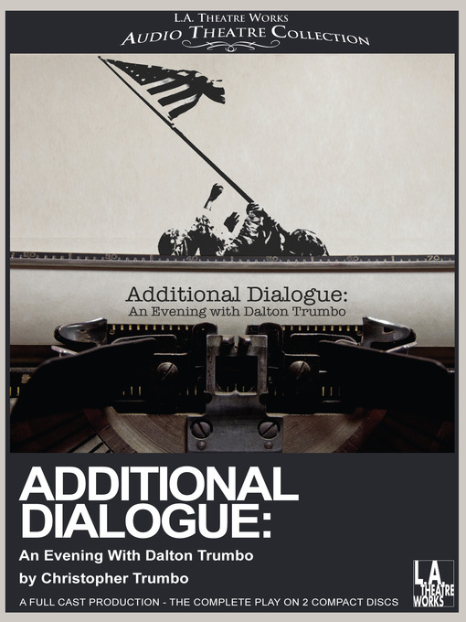 Cover image for Additional Dialogue