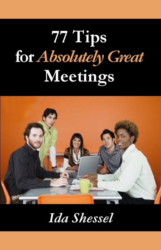 Cover of 77 Tips for Absolutely Great Meetings