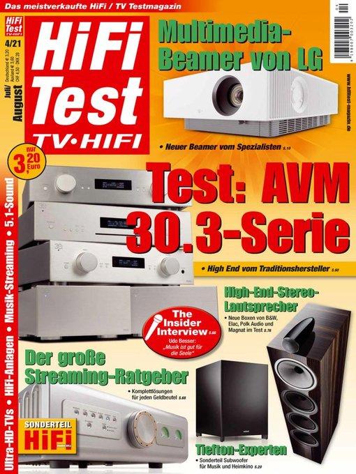 Hifi test tv hifi