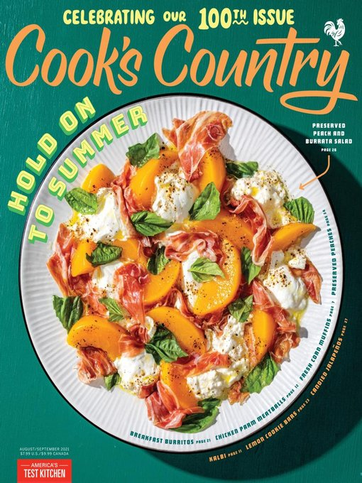Title details for Cook's Country by Boston Common Press, LP - Available