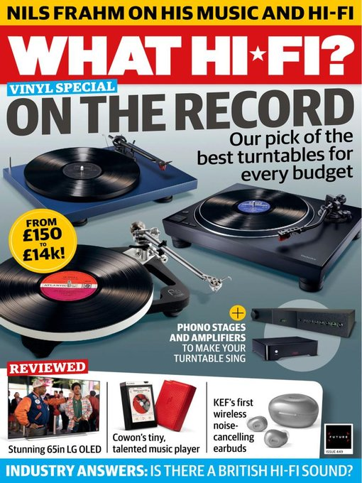 Title details for What Hi-Fi? by Future Publishing Ltd - Available