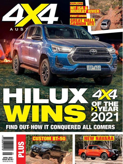 Title details for 4x4 Magazine Australia by Are Media Pty Limited - Available