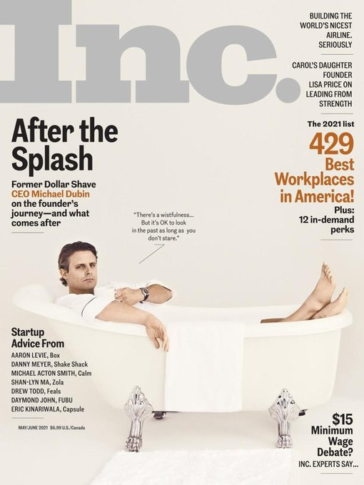 Title details for Inc. Magazine by Mansueto Ventures LLC - Available