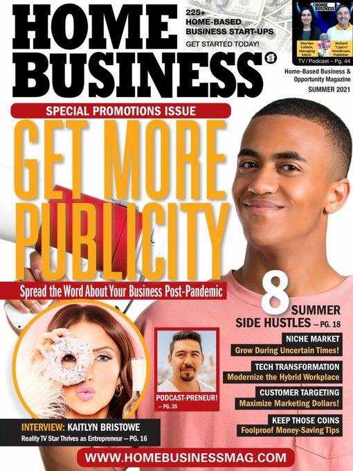 Title details for Home Business Magazine by United Marketing & Research Co. Inc. - Available
