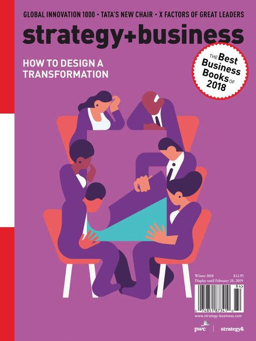 Title details for strategy+business by PwC Strategy& LLC    - Available