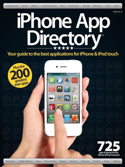 Title details for iPhone App Directory Vol. 9 by Future Publishing Ltd - Available