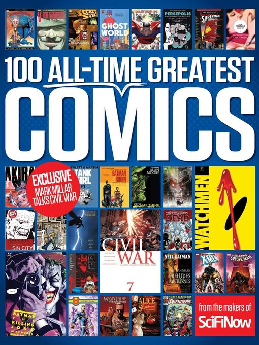 Title details for 100 All-Time Greatest Comics by Future Publishing Ltd - Available