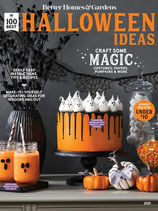 Title details for BH&G 100 Best Halloween Ideas by Meredith Corporation - Available