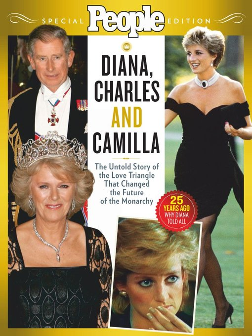 People Diana, Charles, and Camilla: the Untold Story