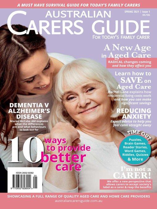 Australian Carers Guide Vic/tas