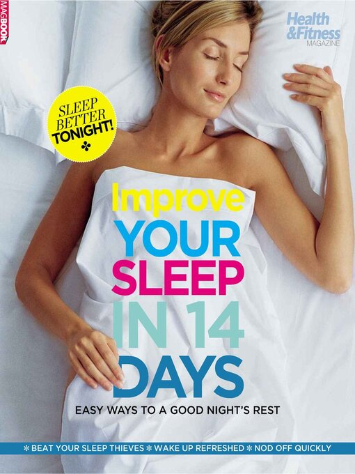Title details for H&F Improve your sleep in 14 days  by Dennis Publishing UK - Available