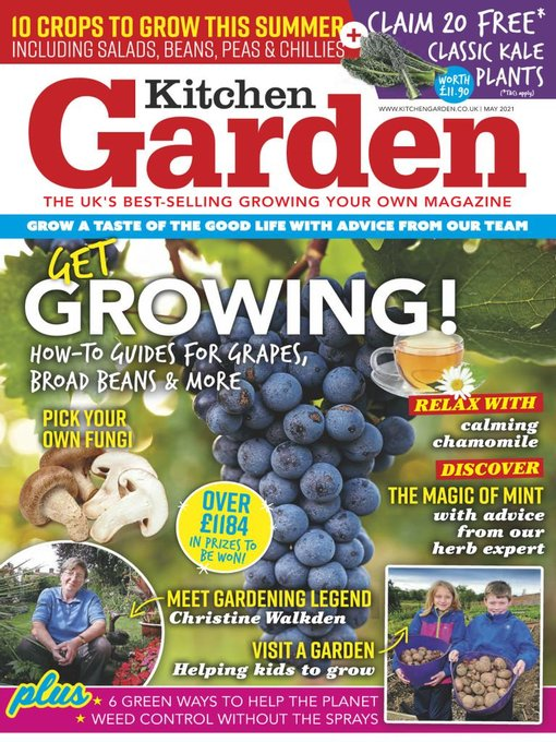 Title details for Kitchen Garden by Mortons Media Group, Ltd - Available