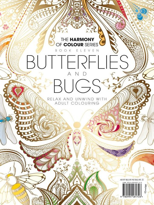 Colouring Book: Butterflies and Bugs