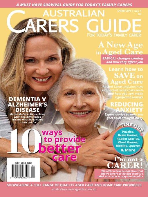 Australian Carers Guide Wa