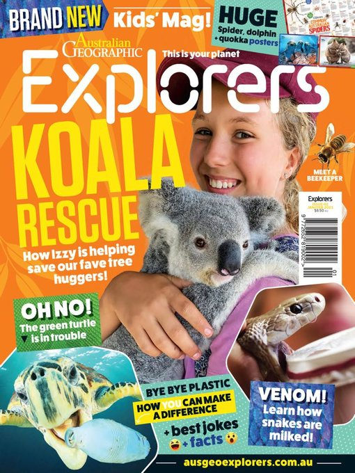 Title details for Australian Geographic Explorers by Australian Geographic Holdings Pty Ltd - Available
