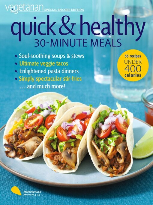 Title details for Vegetarian Times - Healing Foods Cookbook by Pocket Outdoor Media, LLC - Available