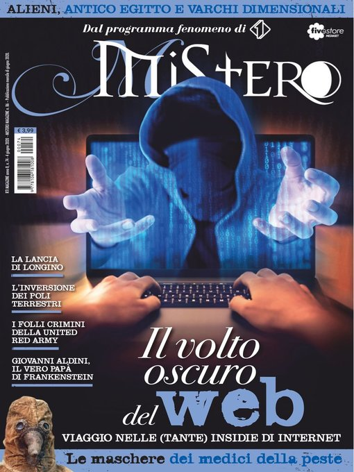 Title details for Mistero Magazine by RTI spa - Available