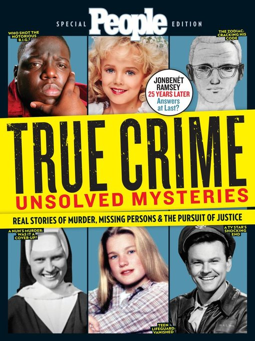 People True Crime Unsolved Mysteries
