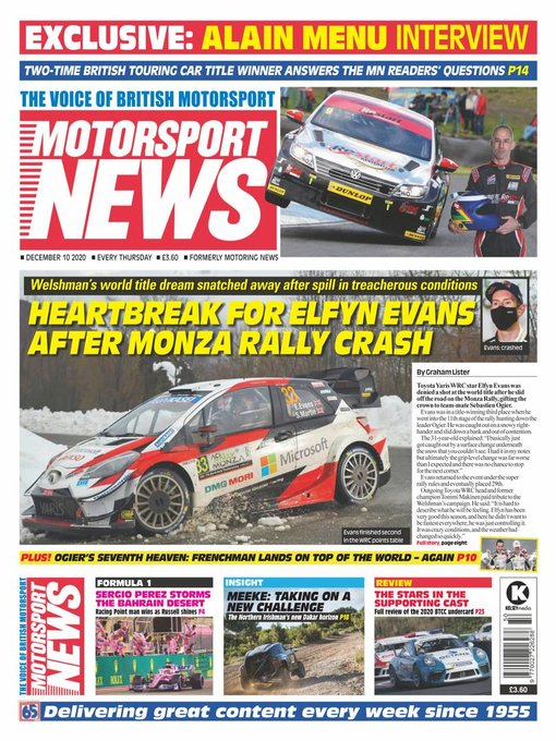 Title details for Motorsport News by Kelsey Publishing Group - Available