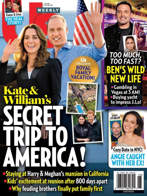 Title details for Us Weekly by A360 Media, LLC - Available