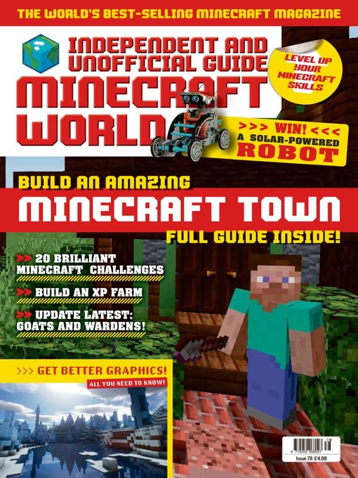 Title details for Minecraft World Magazine by Dennis Publishing UK - Available