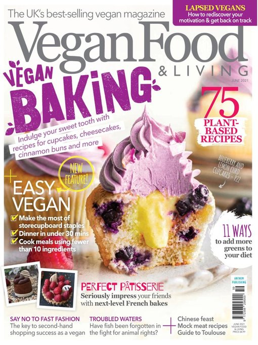 Title details for Vegan Food & Living by Anthem Publishing - Available