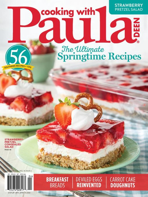 Title details for Cooking with Paula Deen by Hoffman Media - Available