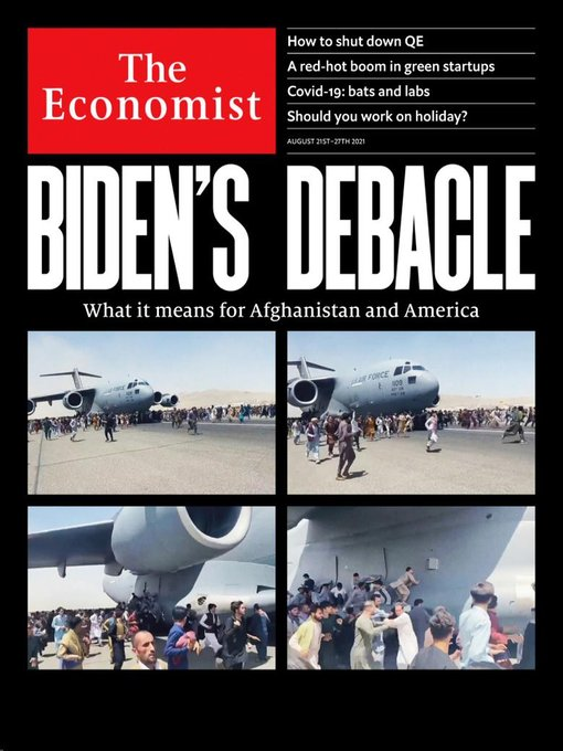 Image of a cover of The Economist