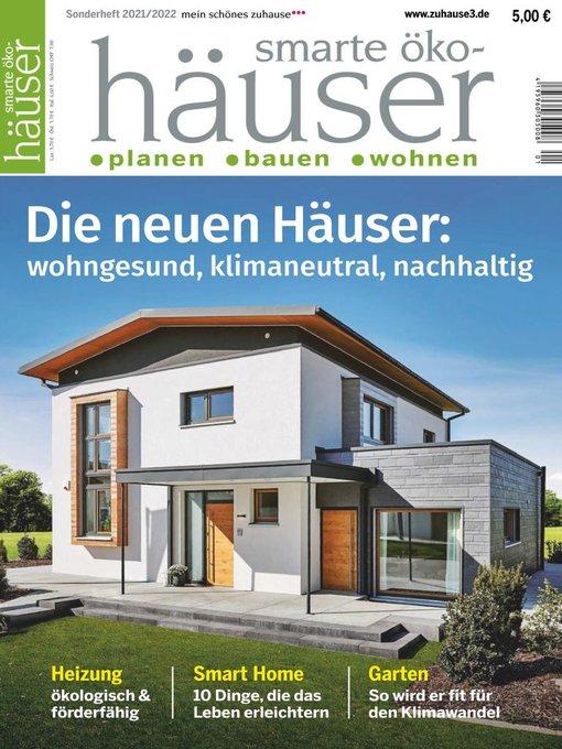 Title details for mein schönes zuhause°°° (das dicke deutsche hausbuch, smarte öko-häuser) by biz Verlag GmbH - Available