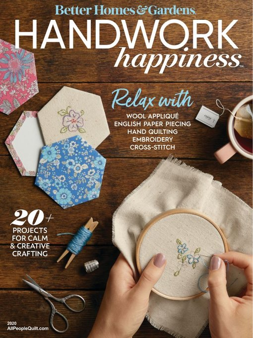 Title details for Handwork Happiness by Meredith Corporation - Available