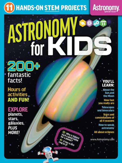 Title details for Astronomy for Kids by Kalmbach Publishing Co. - Magazines - Available